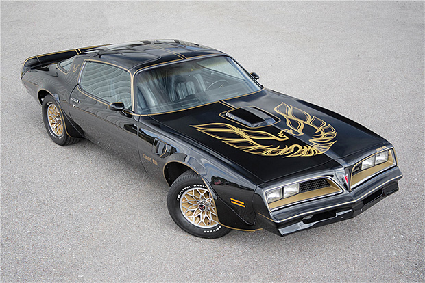 1977 Pontiac Trans Am from Smokey and the Bandit at werd.com