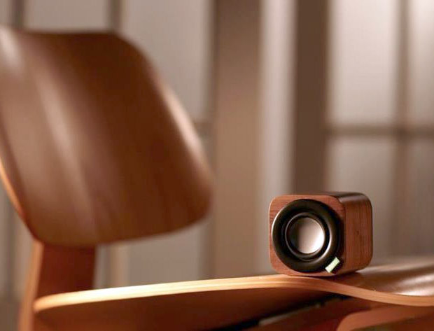 1Q Portable Wood Speaker at werd.com