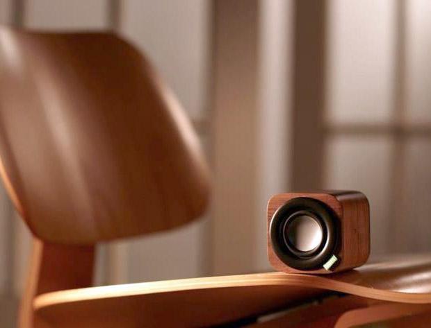 1Q Portable Wood Speaker at werd.com