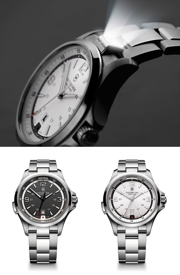 2012 Victorinox Night Vision Watch at werd.com