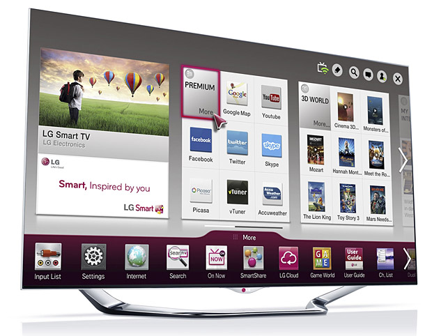2013 LG Smart TVs at werd.com