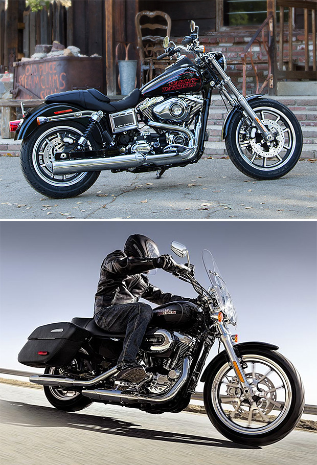 2014 Harley-Davidson Low Rider and SuperLow 1200T at werd.com