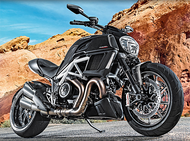 2015 Ducati Diavel at werd.com