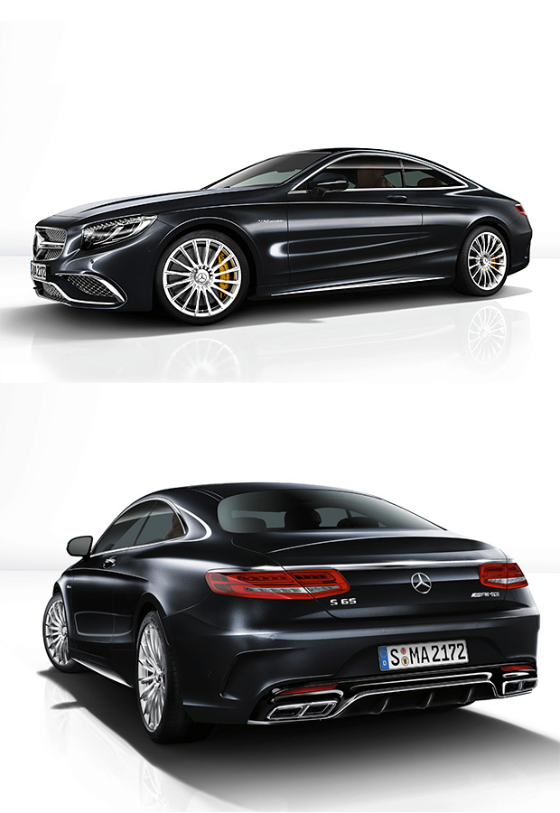 2015 Mercedes-Benz S65 AMG Coupe at werd.com