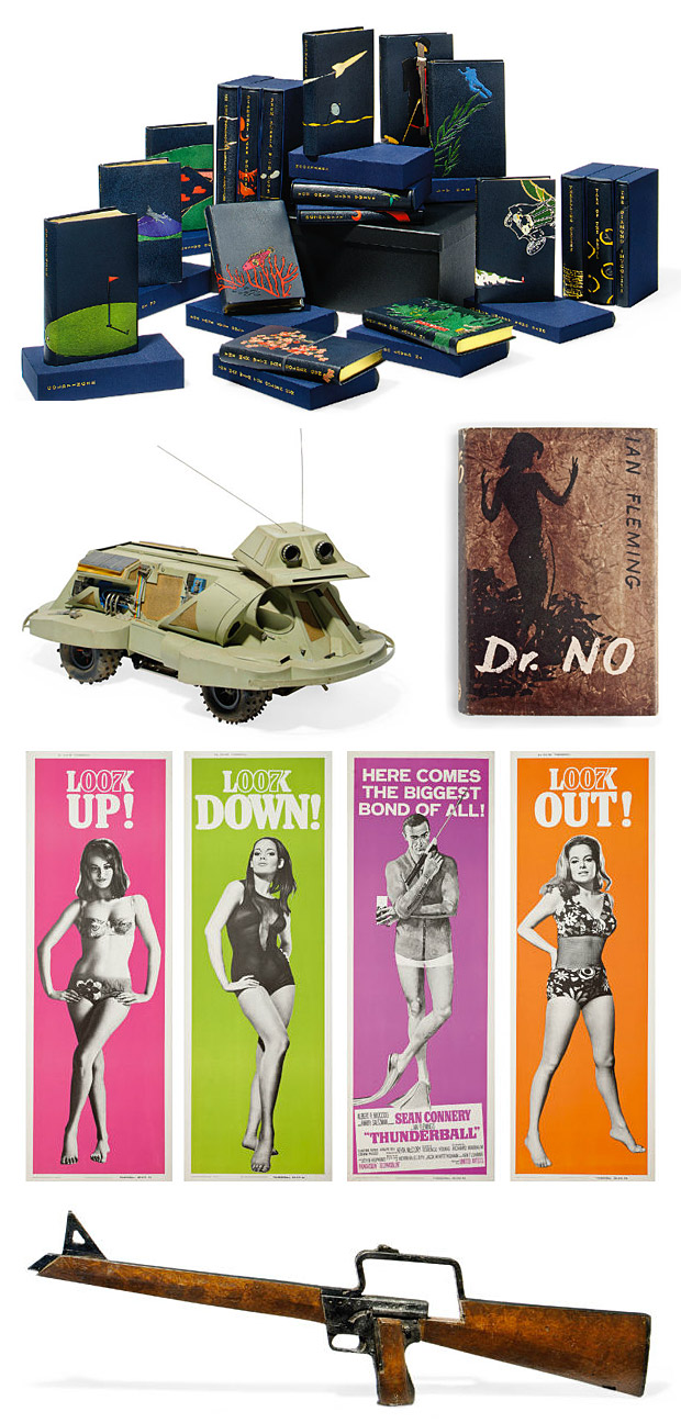 50 Years of James Bond: The Auction at werd.com