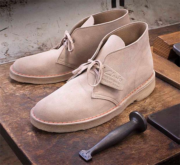 65th Anniversary Clarks Desert Boot at werd.com