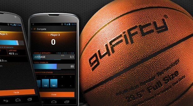 94Fifty Sensor Basketball at werd.com