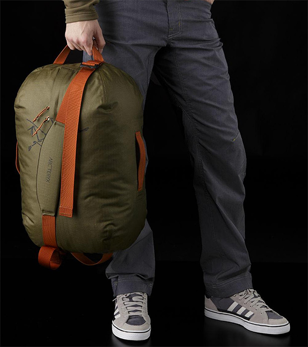 Arc'teryx Carrier Duffel at werd.com
