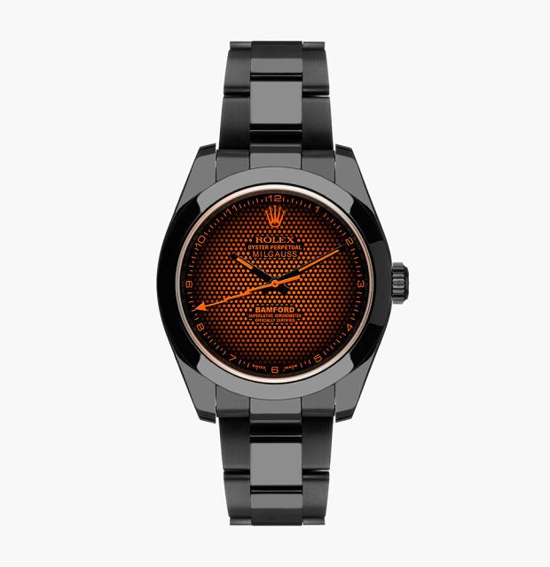 Bamford Watch Department Rolex Milgauss Aftershock at werd.com