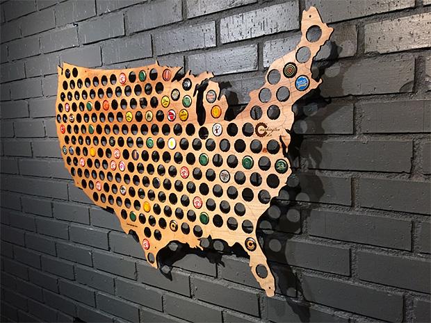 Beer Cap Maps at werd.com