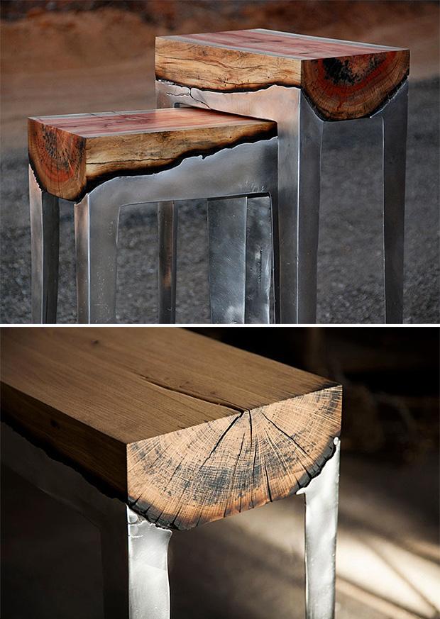 Cast Aluminum and Wood Furniture at werd.com