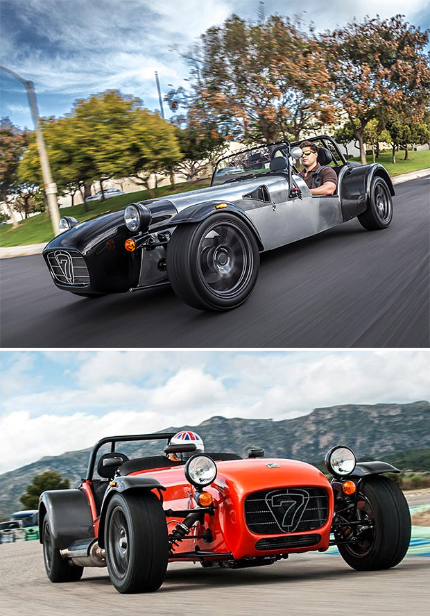 Caterham Cars Seven 480 and 360 at werd.com