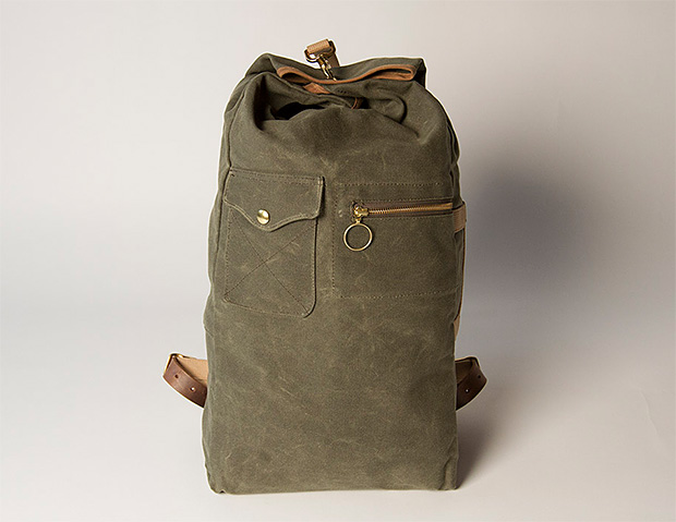 Collected Works Military Duffle Backpack at werd.com