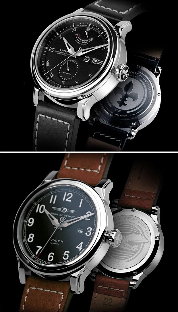Detroit Watch Company at werd.com