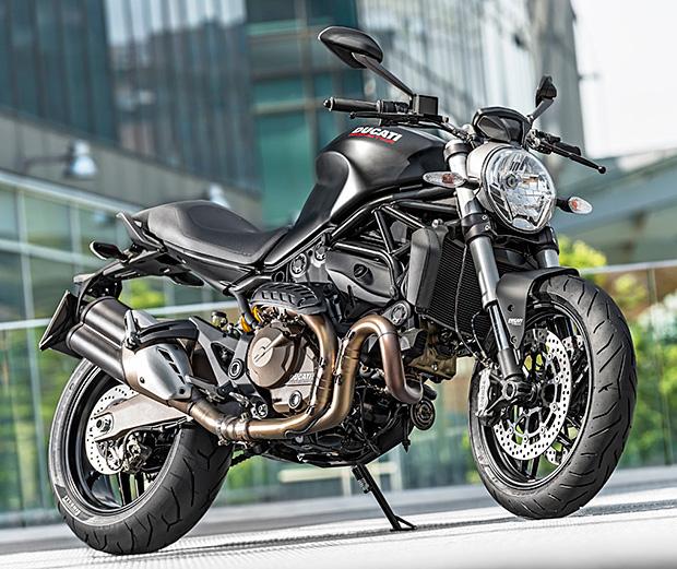 Ducati Monster 821 at werd.com