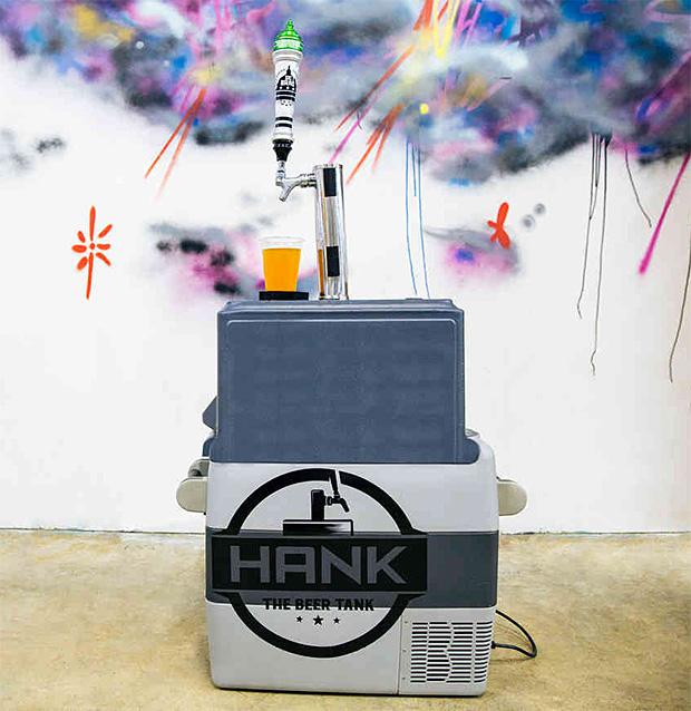 Hank The Beer Tank at werd.com