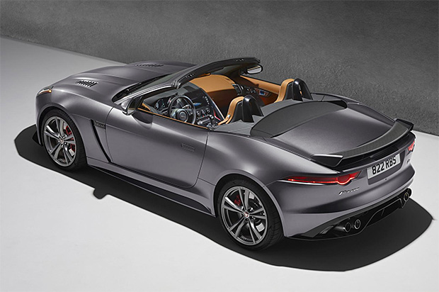 Jaguar F-type SVR at werd.com