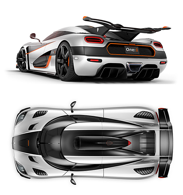 Koenigsegg One:1 at werd.com