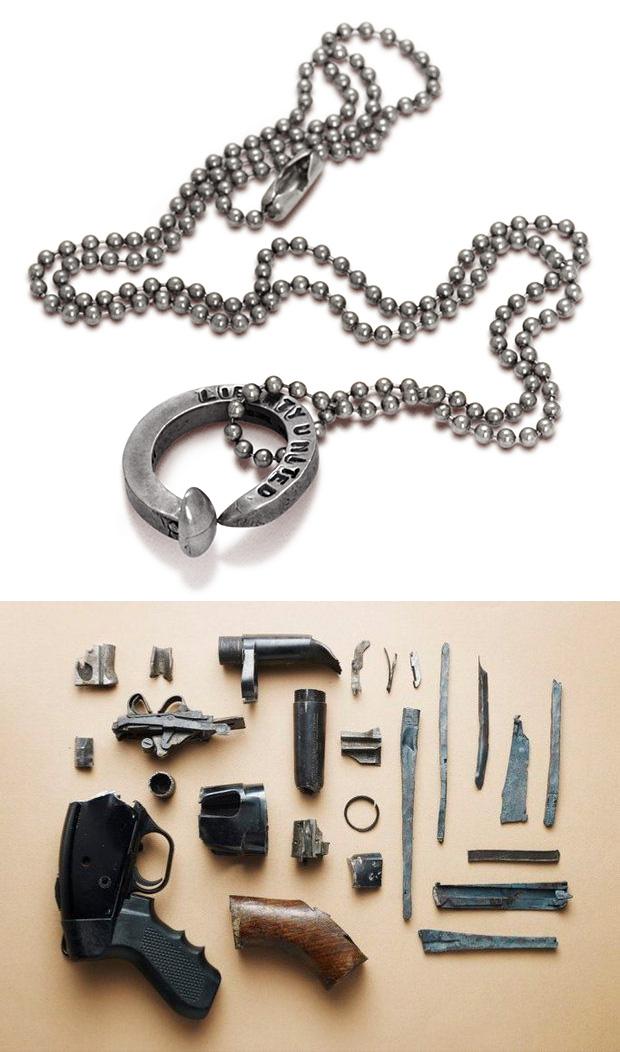 Liberty United Gun & Bullet Casing Jewelry at werd.com