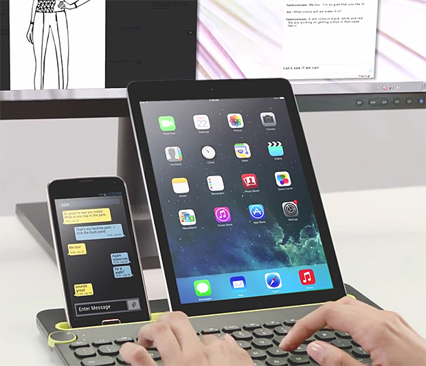 Logitech Bluetooth Multi-Device Keyboard at werd.com