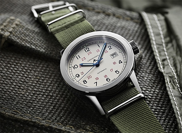 Longines Heritage Military COSD at werd.com