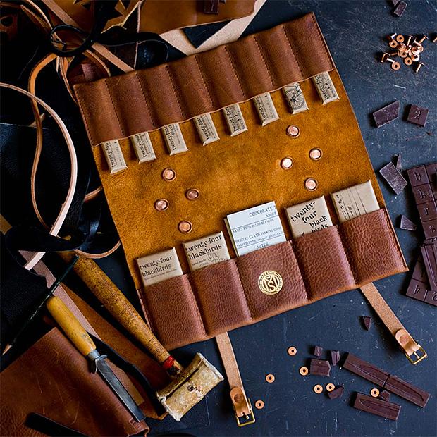 Make Smith Leather Chocolate Portfolio at werd.com