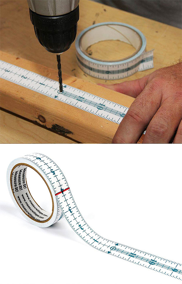 Measure-It Adhesive Measuring Tape at werd.com
