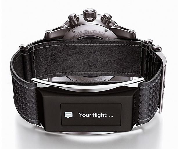 Montblanc TimeWalker Urban Speed e-Strap at werd.com