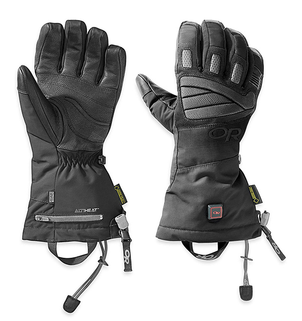 Outdoor Research Lucent Heated Gloves at werd.com