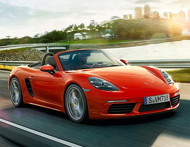 Porsche 718 at werd.com