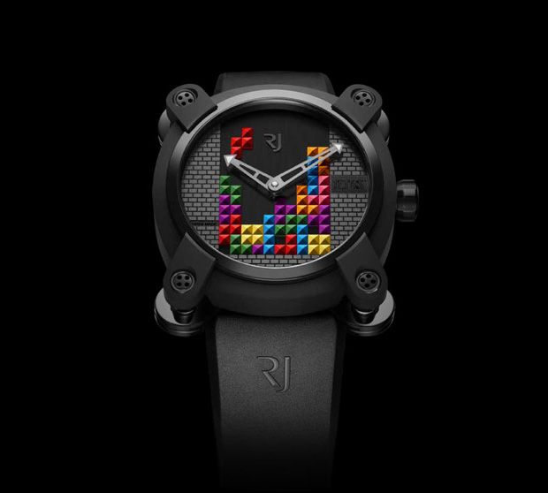 RJ-Romain Jerome Tetris-DNA Watch at werd.com