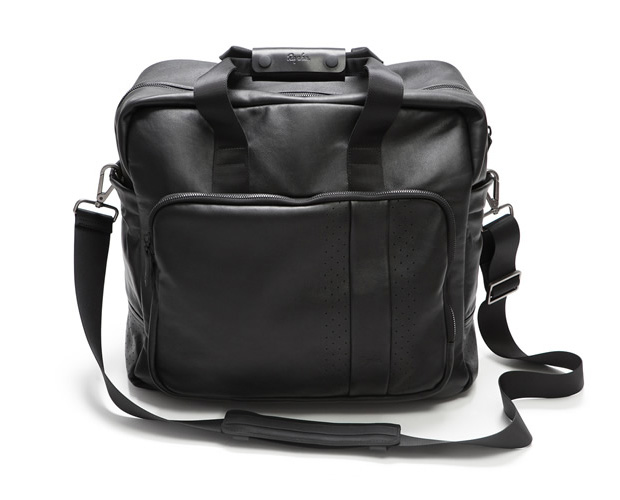 Rapha Leather Race Bag at werd.com
