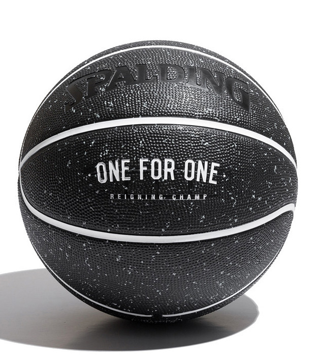 Reigning Champ x Spalding One For One Basketball at werd.com