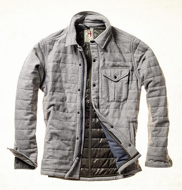 Relwen Channel Field Jacket at werd.com