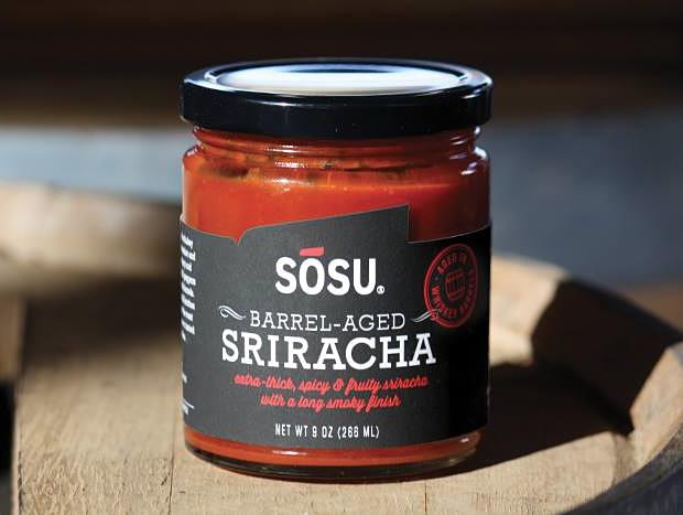 SOSU Barrel-Aged Sriracha at werd.com