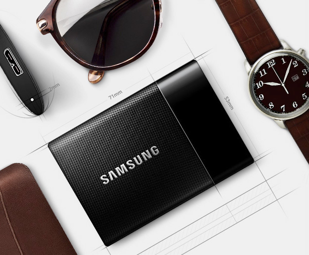 Samsung T1 Portable Drive at werd.com