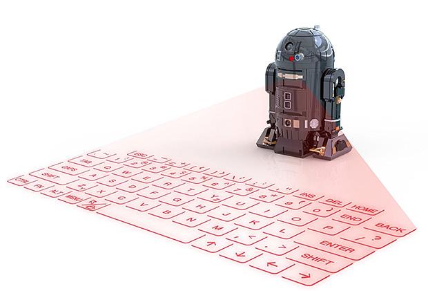 "Star Wars ""R2-Q5″ Virtual Keyboard at werd.com"