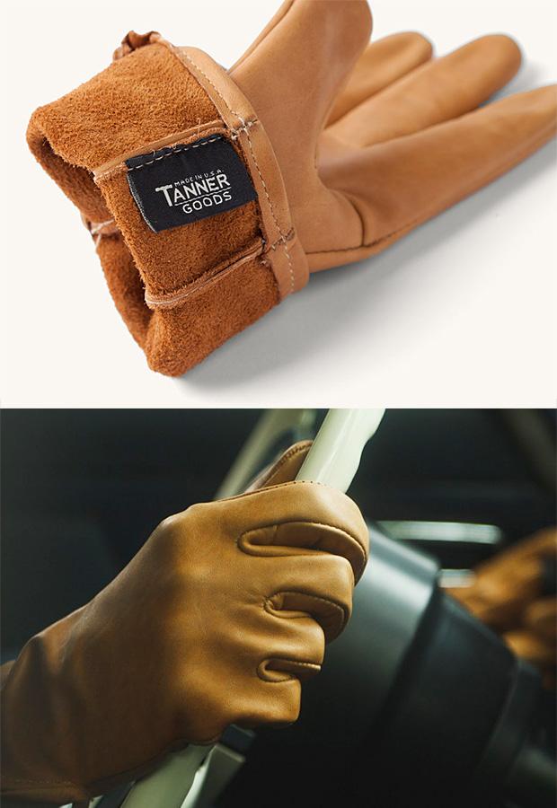 Tanner Goods Utica Driver Gloves at werd.com