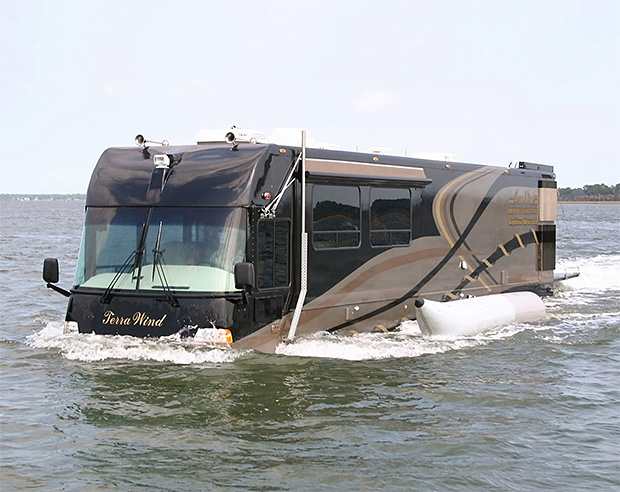 Terra Wind Amphibious Motorcoach at werd.com