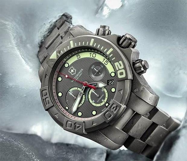 Victorinox Swiss Army Dive Master 500 Anniversary Chronograph at werd.com