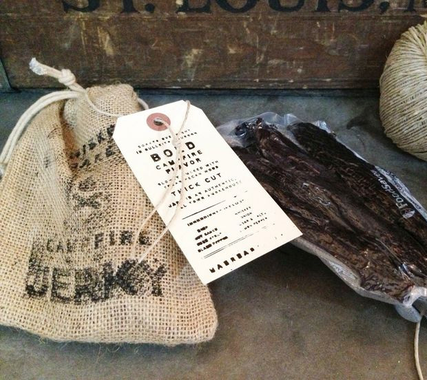Whiskey Soaked Campfire Jerky at werd.com