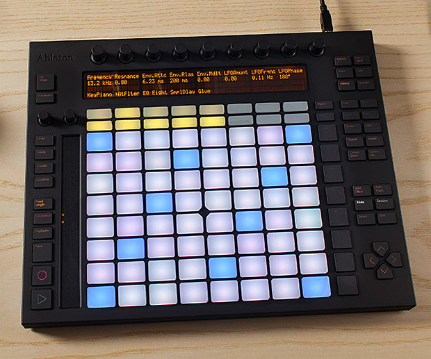 Ableton Push at werd.com
