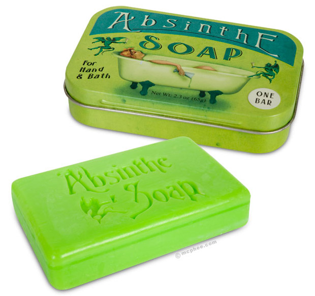 Absinthe Soap at werd.com