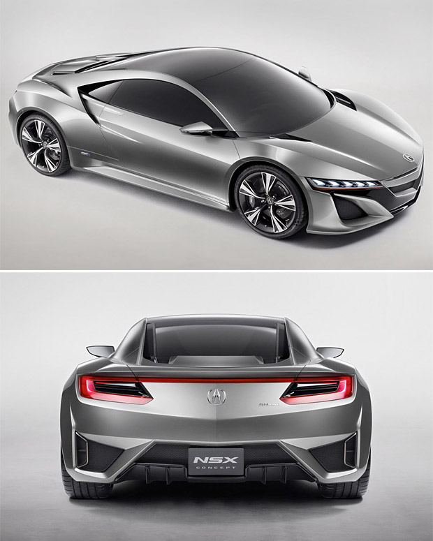 Acura NSX Concept Hybrid at werd.com