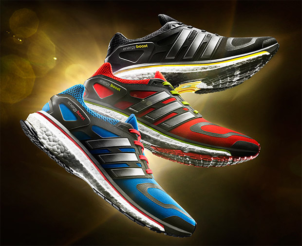 Adidas Boost at werd.com