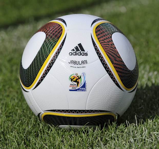 Adidas World Cup 2010 Jabulani Ball at werd.com