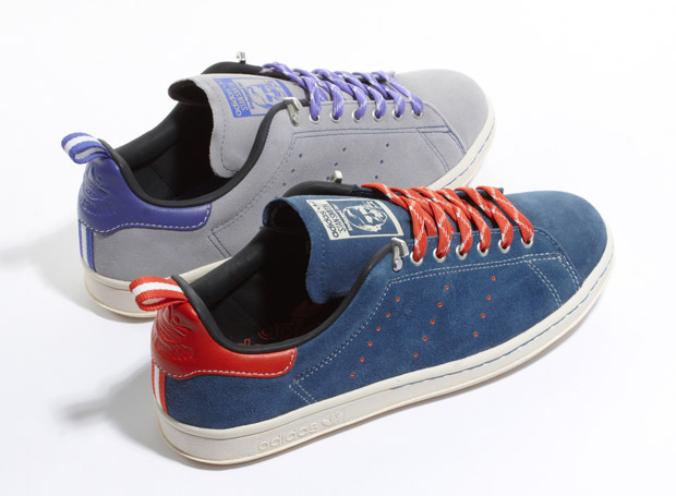 Adidas Originals Suede Stan Smith 80s at werd.com