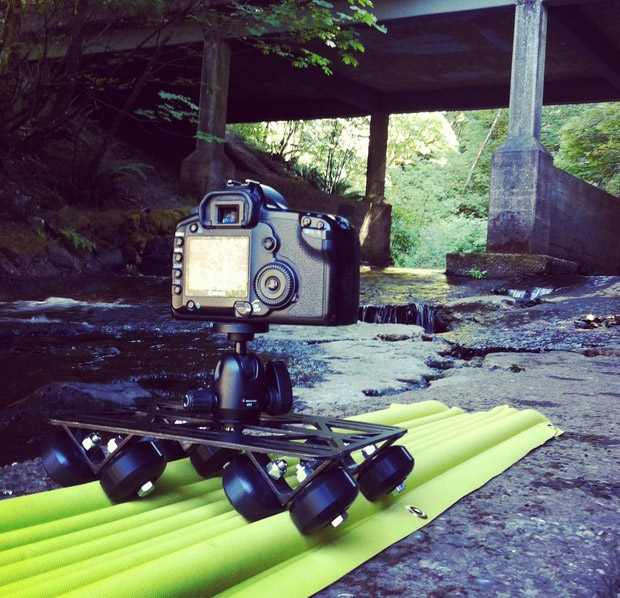 AirTracks: Inflatable All-Terrain Camera Slider at werd.com