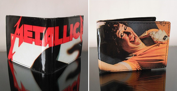 The Original Record Wallet at werd.com