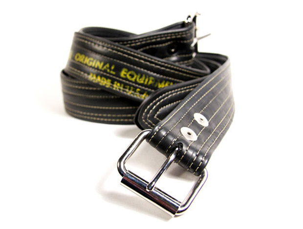 Alchemy Goods Bicycle Tube Belt at werd.com